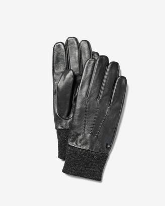 Express Leather Winter Gloves