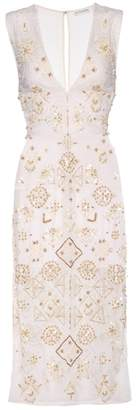 Altuzarra Pamplona beaded cotton dress