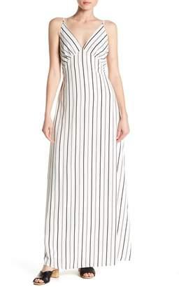 NSR Print Maxi Dress