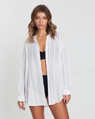 Atmos & Here ICONIC EXCLUSIVE - Olivia Cotton Swim Shirt