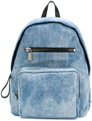 Balmain Club denim backpack
