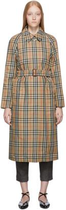 Burberry Beige Kempton Trench Coat