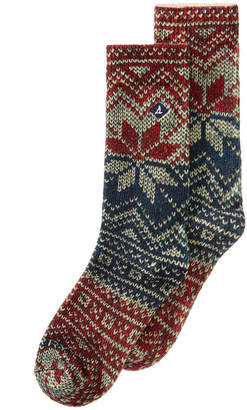 Sperry Men Printed Crew Socks