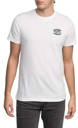 RVCA Clutch Logo Graphic T-Shirt