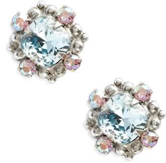 Sorrelli Hibiscus Crystal Earrings