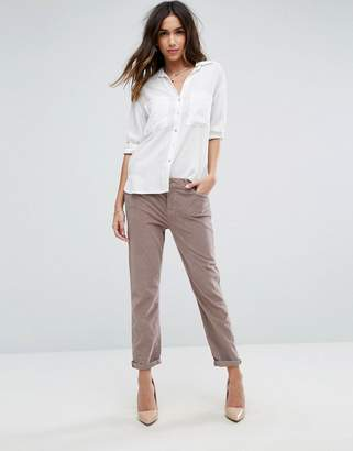 7 For All Mankind Cord Skinny Pants