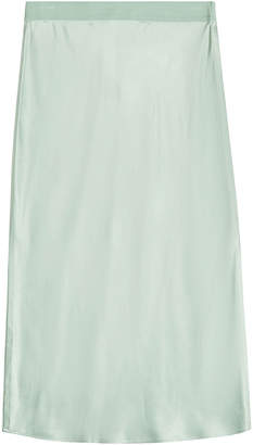 Theory Silk Slip Skirt