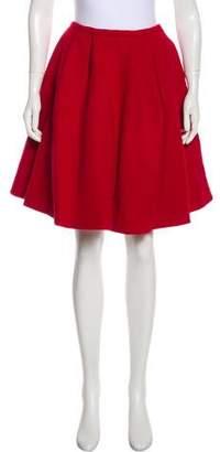 Vivetta Wool-Blend Knee-Length Skirt w/ Tags