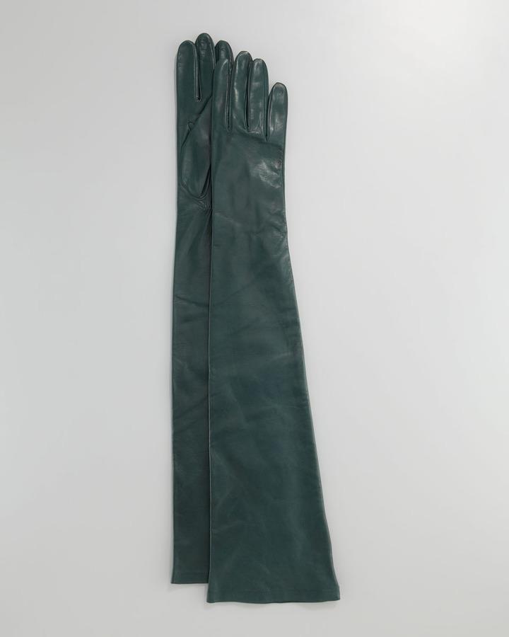 Portolano Opera-Length Leather Gloves
