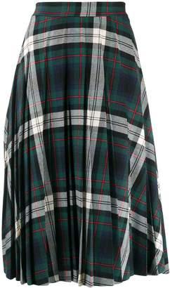 Semi-Couture Semicouture plaid midi skirt