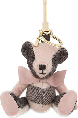 Burberry Thomas Bear checl cashmere keyring