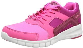 Gola Girls' Santo Toggle Multisport Outdoor Shoes, Pink(Pink/Beetroot), (36 EU)