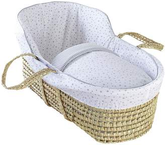 Clair De Lune Stars & Stripes High Top Palm Moses Basket.