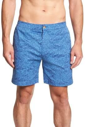 Vineyard Vines Jetty Print Stretch Cotton Shorts