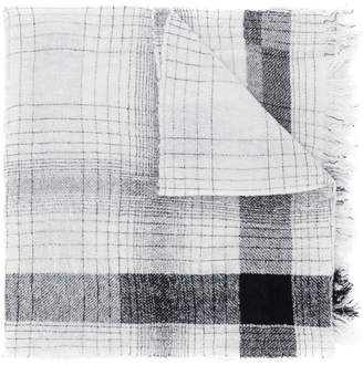 Faliero Sarti woven fringe scarf