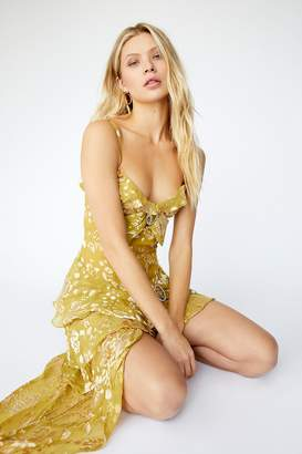 For Love & Lemons Cosmo Asymmetrical Dress