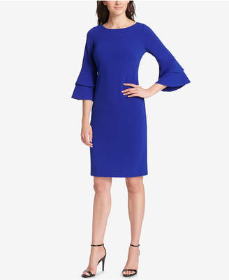 Jessica Howard Petite Bell-Sleeve Shift Dress