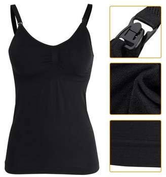 1a91491c975 Estink Slim Breastfeeding Tank Top with Built-in Nursing Bra Maternity Vest  Undershirt