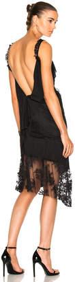 Pierre Balmain Asymmetrical Slip Dress