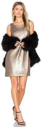 BB Dakota Penley Dress in Metallic Bronze $130 thestylecure.com