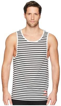 Puma Summer Breton Stripe Tank Top Men's Sleeveless