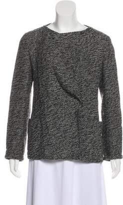 Akris Punto Wool-Blend Knit Jacket