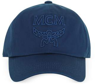 MCM Signature Cotton Baseball Cap