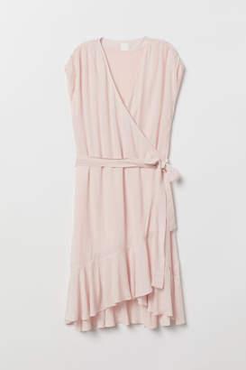 H&M Flounced Dress - Pink