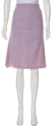 Valentino Jacquard Knee-length Skirt