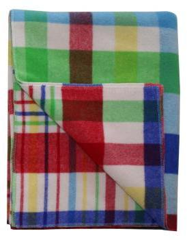 Designers Eye Multi Throw Blanket In Blue