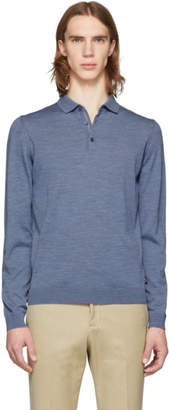 BOSS Blue Merino Wool Polo