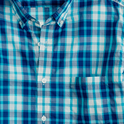 Secret Wash lightweight shirt in Rangley check
