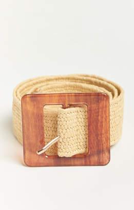 Show Me Your Mumu Sweet Thing Woven Belt ~ Beige
