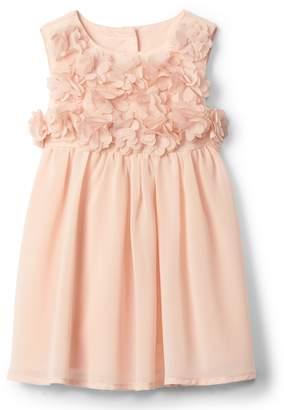 Gap Floral applique party dress