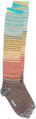 Missoni striped knitted socks