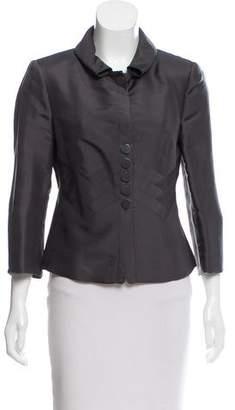 Armani Collezioni Structured Silk Jacket