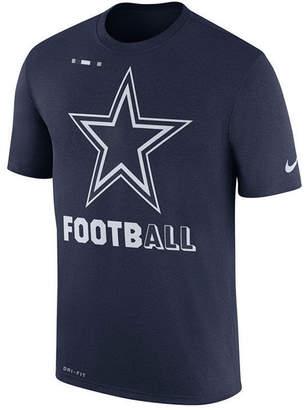 Nike Dallas Cowboys Legend Football T-Shirt, Big Boys (8-20) $25 thestylecure.com