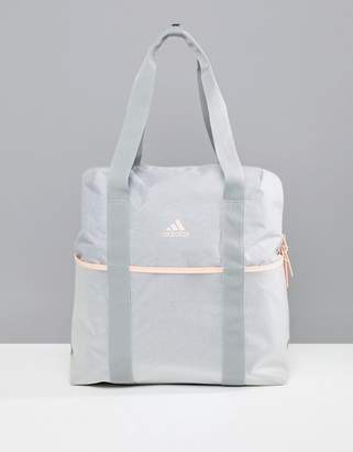 adidas Training Tote Bag In Gray