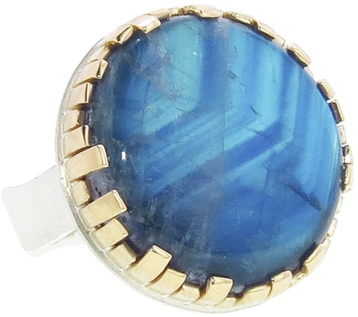 Jamie Joseph round moonstone ring