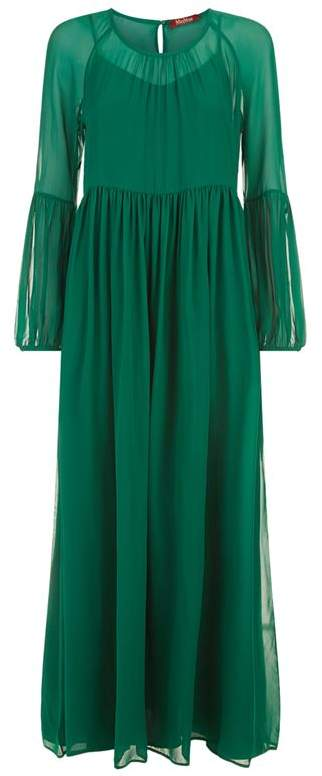 Silk Maxi Dress With Slip