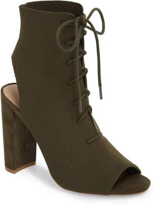 Steve Madden Capture Lace-Up Sock Bootie