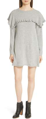 See by Chloe Ruffle Yoke Minidress