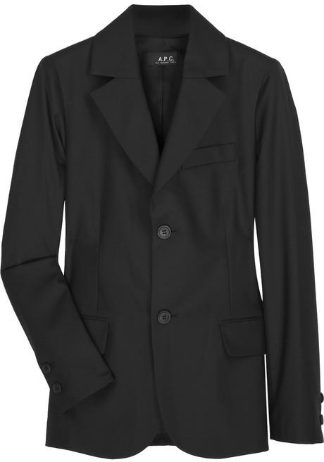 A.P.C. Wool-felt blazer