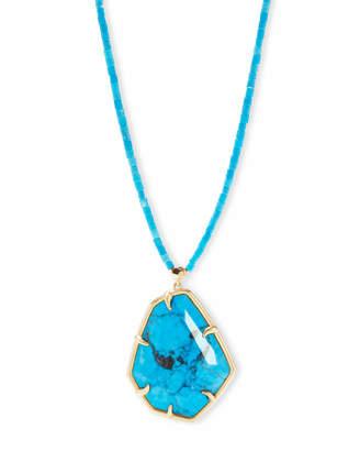 Kendra Scott Beatrix Long Pendant Necklace