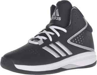 adidas Kid's Cross 'Em up 2016 Basketball Shoes, Core Black/Silver Metallic/Clear Onix