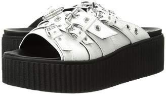 McQ Dusk Eyelet Slide Women's Slide Shoes