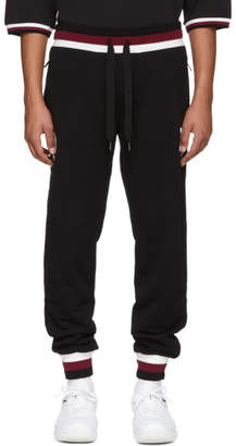 Dolce & Gabbana Black Logo Sweatpants