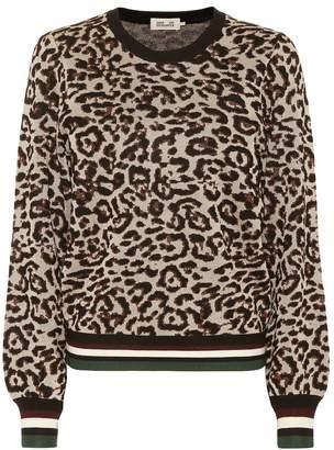 Baum und Pferdgarten Leopard-printed sweatshirt