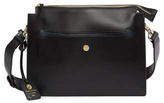Lodis Downtown Dalia RID-Protected Leather Crossbody Bag