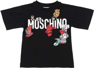 Moschino Limited Edition Jersey T-Shirt For Lvr